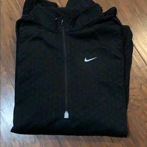 Nike half zip long sleeve running sweater